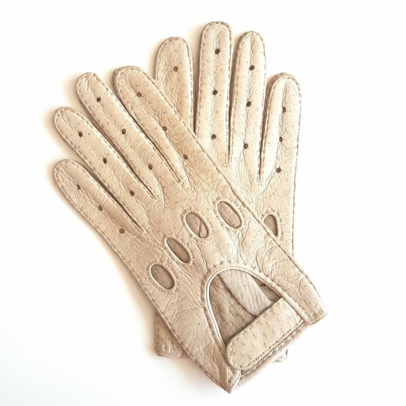 gants en cuir de p cari otmeal pompeia non doubl s. Black Bedroom Furniture Sets. Home Design Ideas