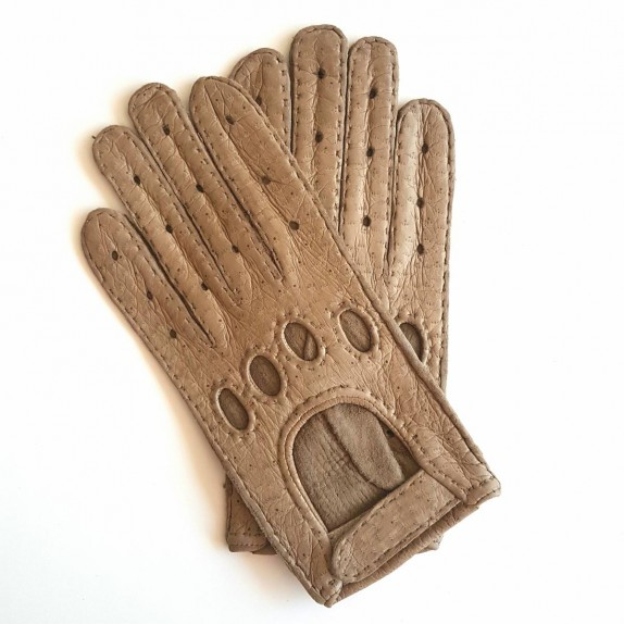 "Leather gloves of peccary kapuzin ""POMPEIA"""