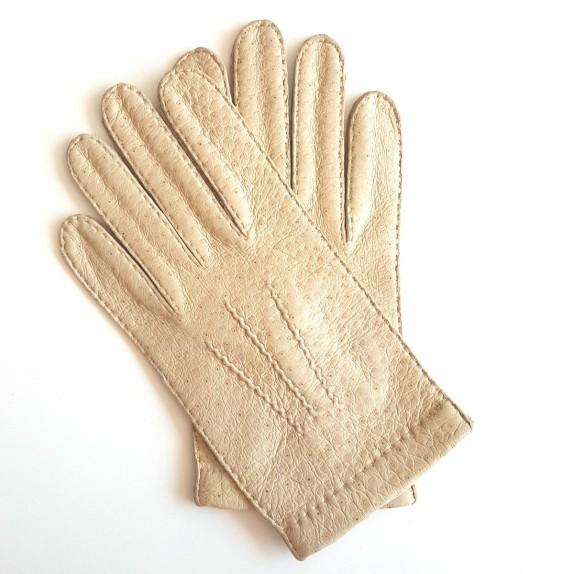 "Leather Gloves Tannerie Color ""NAME DU GANT"""