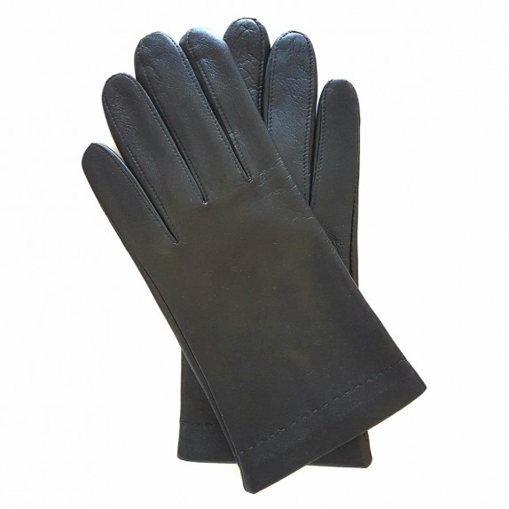 "Leather Gloves of lamb black ""RAPHAËL""."
