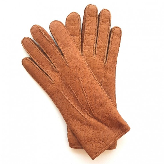 "Leather Gloves of peccary cork ""PAUL""."