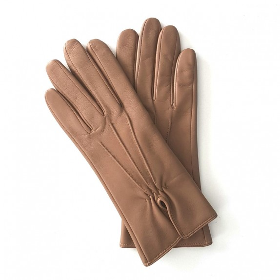 "Leather gloves in lamb ""JULIE"""