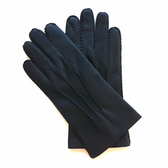 "Leather gloves of lamb black ""PIERRE"""