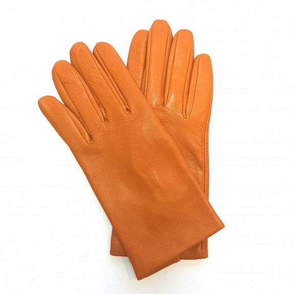 "Leather gloves of lamb maize ""CAPUCINE"""