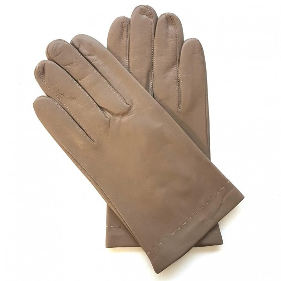 """Leather gloves of lamb clay """"RAPHAËL""""."""