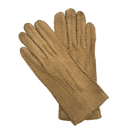 "Leather Gloves of lamb caravan ""PATT""."