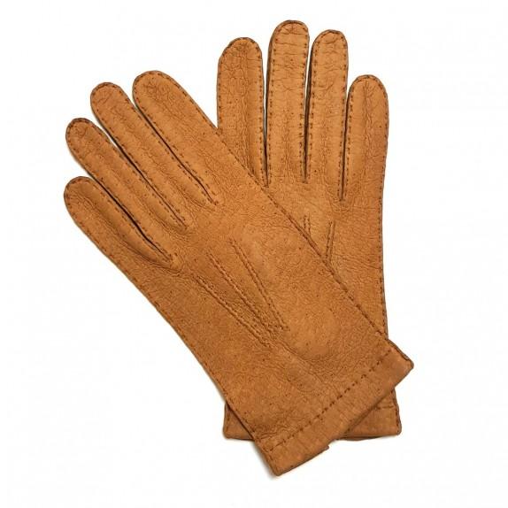 "Leather Gloves of lamb cork ""PATT""."