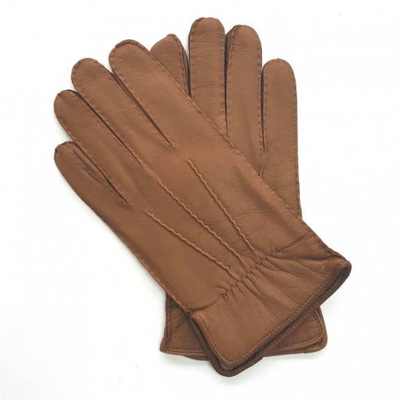 "Leather gloves of deer caravan "" MARC """
