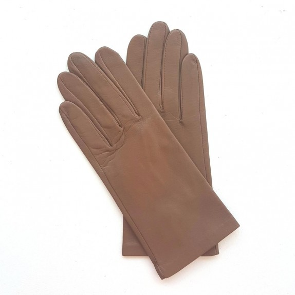 "Leather gloves of lamb sand ""CAPUCINE"""