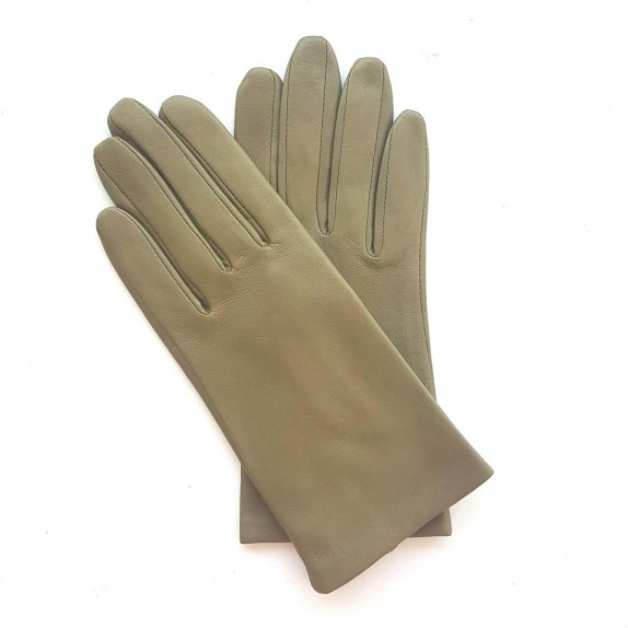 "Leather gloves of lamb alfa ""CAPUCINE"""