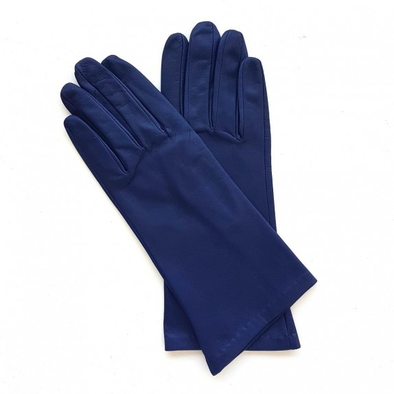 """Leather gloves of lamb damson """"COLINE"""""""