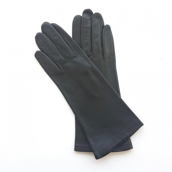 "Leather gloves of lamb khaki ""COLINE"""