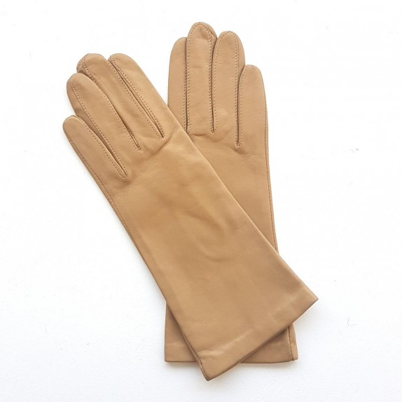 "Leather gloves of lamb mastic ""COLINE"""