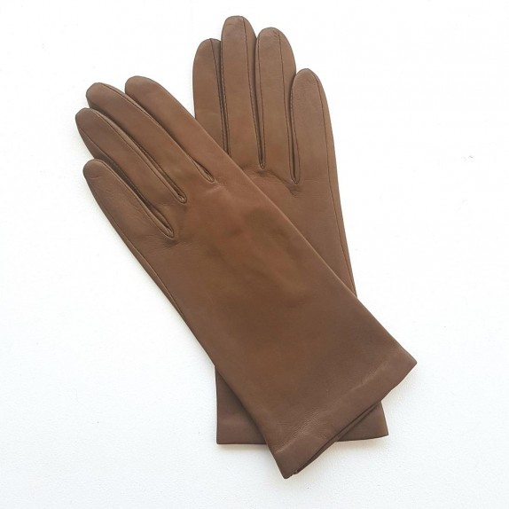 "Leather gloves of lamb caravan ""COLINE"""