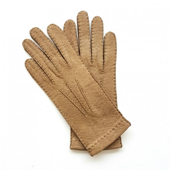 "Leather Gloves of lamb kapuzin ""PATT""."
