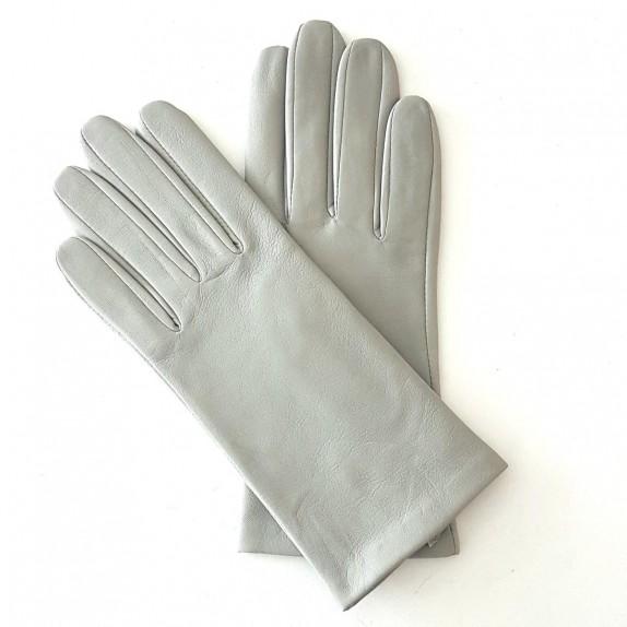 "Leather gloves of lamb dove ""CAPUCINE"""