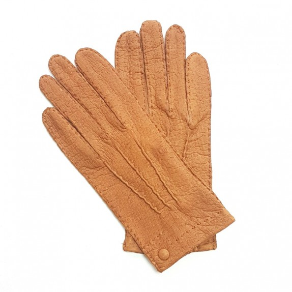 "Leather gloves of peccary cork ""PERNILLE"""