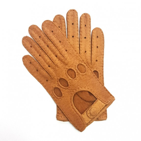 "Leather gloves of peccary cork ""POMPEIA BIS"""