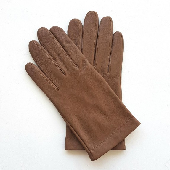 "Leather gloves in lamb ""RAPHAËL""."