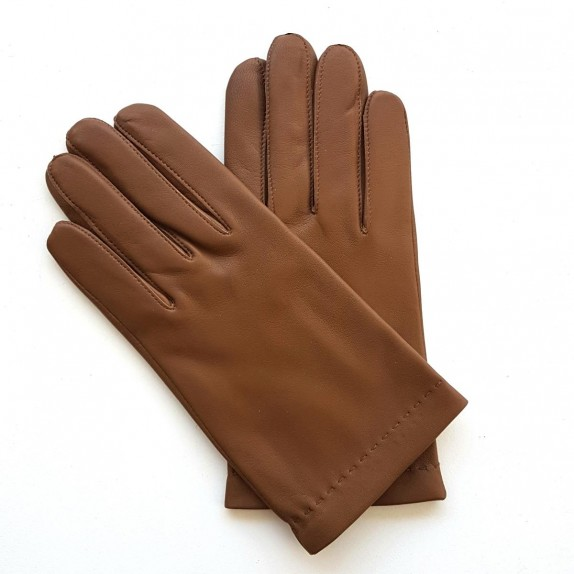 "Leather gloves of lamb biscuit ""RAPHAËL"""