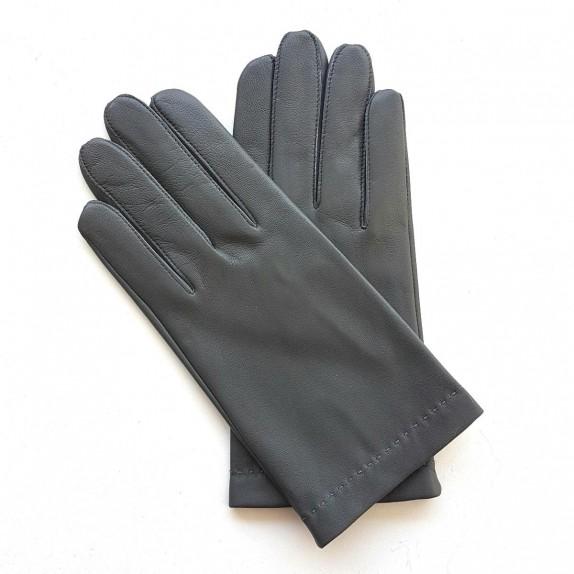 "Leather gloves of lamb grey ""RAPHAËL"""